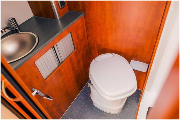 RV bathroom